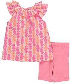 Carter's Baby Girl 2 Pc Pink and Coral Seahorse Top and Short Set Newborn, http://www.amazon.com/dp/B00VVUBYT4/ref=cm_sw_r_pi_awdm_Pz7bxb6WQRQ8C