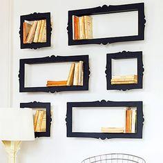 Estanterías barrocas con marcos   Decoración de Interiores   OpenDeco