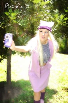 Zoe about to take action #Digimon #DigimonFrontier #Cosplay