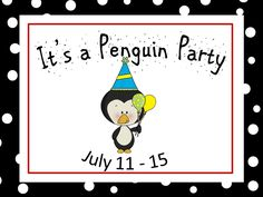A Penguin Party Is Coming!