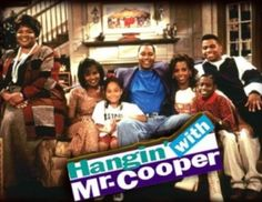 Hanging with Mr Cooper - this was a fun set to work on. I worked on several episodes of this show.