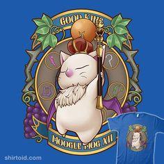 King Moogle   Shirtoid #finalfantasy #gaming #kupo #mog #moogle #saryaart #videogame
