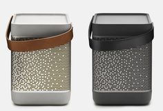 Portable music system Beolit 12 by Bang & Olufsen.amazing beauty of simplicity!