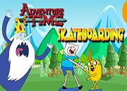 Adventure Time SkateBoarding | juegos adventure time - hora de aventura