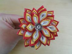 Mistress of Disguise: Kanzashi Petal Variations - Layered Petals