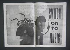 ATM Newspaper 7 by Darren Leader Studio, via Flickr