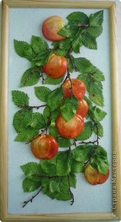 """Paneles sobre la pared """"manzanas"""" con sus propias manos. - Un cumpleaños - Regalos para las fiestas - Editorial - Rukodel.TV"""