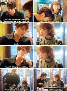 Korean Drama Funny, Korean Drama Quotes, Drama Film, Drama Movies, Drama Drama, Kdrama Memes, Funny Kpop Memes, Strong Girls, Strong Women
