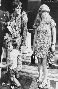 alrightgeorge:  ★SCAN 〜 Paul and Jane with Julian, 1967