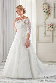 3796a25cb400 17 Best Bonny Bridal Wedding Dresses images | Dress wedding, Alon ...