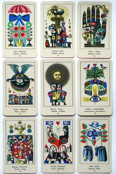 1969 70 Vladimir Tesar Orakel F T Cards Prague Czechoslovakia Amazing Deck | eBay