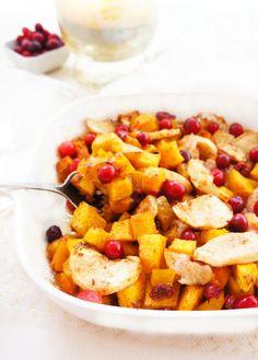 Squash, Apple & Cranberry Bake   Haute & Healthy Living