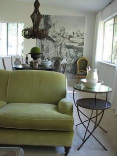 more green couch inspiration