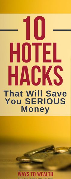 10 Hotel Hacks That Will Save You Serious Money Discover the best ways to save money when booking a hotel. Here are 10 ways you can find cheap hotels near you, even if you& booking last-minute. Ways To Travel, Best Places To Travel, Travel Tips, Travel Hacks, Travel Stuff, Book Cheap Hotels, Find Cheap Hotels, Ways To Save Money, Money Saving Tips