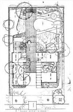 Case Study House No.1 (1948, built) | Architect : Julius Ralph ...