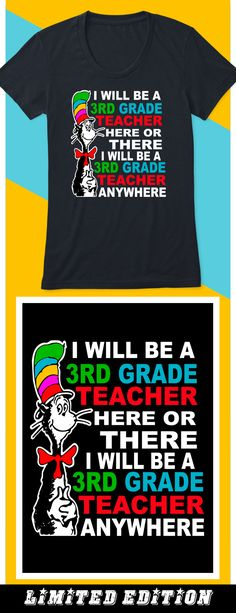 3rd Grade teacher anywhere - Limited edition. Order 2 or more for friends/family & save on shipping! Makes a great gift!