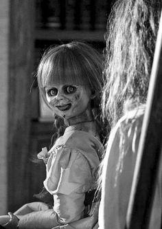 Annabelle.... demon on ceiling | Horror, Hauntings ...