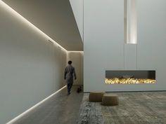 Built-in lighting profile UNDERSCORE by iGuzzini Illuminazione | design Dean Skira