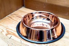 CuBowl: Antimicrobial Copper Water Bowls