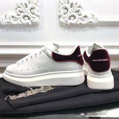 e06f9e28ae2bdb Alexander McQueen white sneakers unisex woman man couple shoes - Adidas  White Sneakers - Latest and fashionable shoes - Alexander McQueen white  sneakers ...