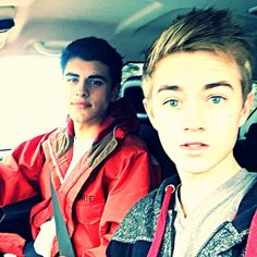 Jack Gilinsky and Jack Johnson