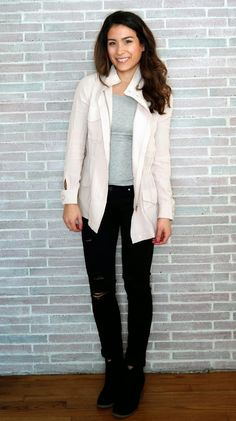 Spring Transitions Light Pink Jacket