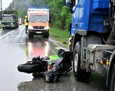 Unfall A95 Oberau