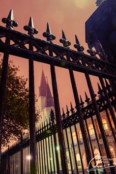 New Orleans French Quarter at night { St. Louis Cathedral }