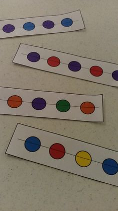 These pattern cards are perfect for centers in preschool or the beginning of the year.