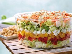 ber ideen zu schichtsalat auf pinterest salat nudelsalat und kartoffelsalat. Black Bedroom Furniture Sets. Home Design Ideas