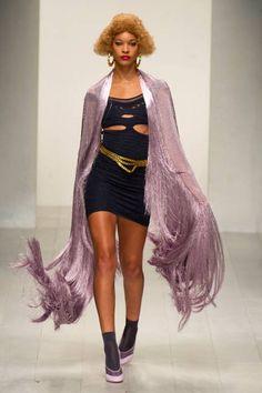 Mark Fast - Cutouts Spring 2013 Runways - Cutout Dresses, Tops at Fashion Week - ELLE