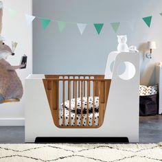 POPOP - Emmanuel Gallina Baby Bedroom, Baby Room Decor, Kids Bedroom, Baby Bedding Sets, Cot Bedding, Baby Furniture, Furniture Design, Unique Baby Cribs, Kids Bed Design
