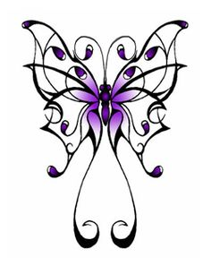 Heres my butterfly tattoo! On my back between my shoulder blades.