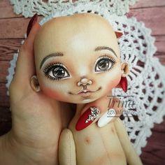 Doll Painting, Amigurumi Doll, Fabric Dolls, Sheep, Cute Girls, Halloween Face Makeup, Teddy Bear, Velvet, Dolls Dolls