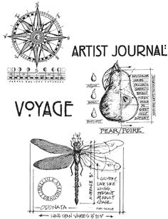 Stampers Anonymous - Tim Holtz - Cling Mounted Rubber Stamp Set - Classics 1 at Scrapbook.com $20.41