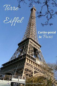 Talvez um dos pontos turísticos mais reconhecidos do mundo seja a Torre Eiffel, em Paris. É o monumento, com entrada paga, mais visitado do mundo.