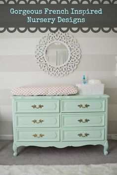 French Inspired Baby Room's. #love!