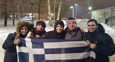 Ο Ολυμπιακός είχε στην αναμέτρηση με τη Νίζνι στο Νόβγκοροντ τη συμπαράσταση δέκα Ελλήνων φιλάθλων, που μένουν μόνιμα στην ρωσική πόλη. Το www.sportfm.gr τους συνάντησε και μίλησε μαζί τους.