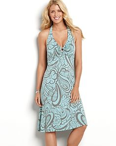 fell in love with Tommy Bahama clothes while on my honeymoon - such nice stuff
