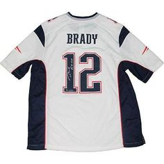 Tom Brady Signed Autographed White Full Size Jersey Patriots Steiner SB 49  MVP. New England ... 7fd61071c