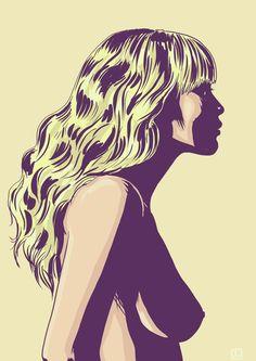 Blonde!  by Giuseppe Cristiano  http://giuseppecristiano.tumblr.com/
