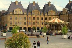 Charleville-Mézières, de grootste stad in de Franse Ardennen