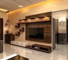 Modern Tv Unit Designs, Wall Unit Designs, Living Room Tv Unit Designs, Tv Wall Design, Bedroom Tv Unit Design, Latest Tv Unit Designs, Tv Stand Designs, Latest House Designs, Modern Tv Room