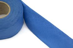 Blue Woven Bias Tape Roll 1.5 inches width 5 yards  BST00067