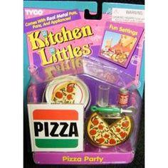 kitchen littles pizza set