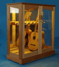 Stonington Guitar Cabinet from Katahdin Studio Furniture... free shipping in the 48 contiguous United States