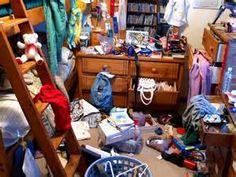 A very damn messy room