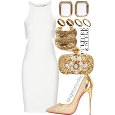 """""""Style and grace"""" by sheakisses on Polyvore"""