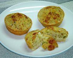 Sabor sem Glúten - Receitas!: Muffin Salgado (opção sem lactose)