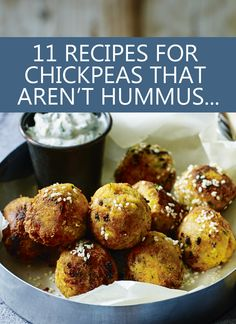11 chickpea recipes that aren't hummus... and one that is! (Because hummus is great.)